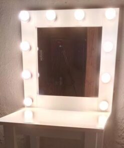 Theaterspiegel für 10 Lampen