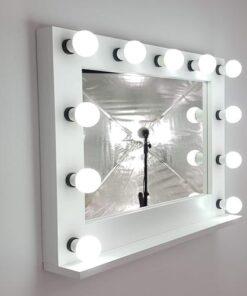 Theaterspiegel für 11 Lampen