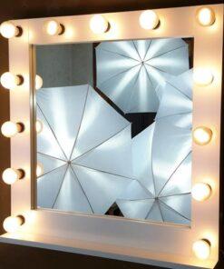 Theaterspiegel für 13 Lampen