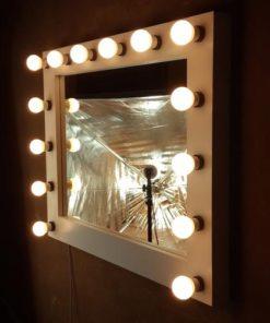 Theaterspiegel für 14 Lampen