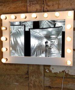 Theaterspiegel für 15 Lampen