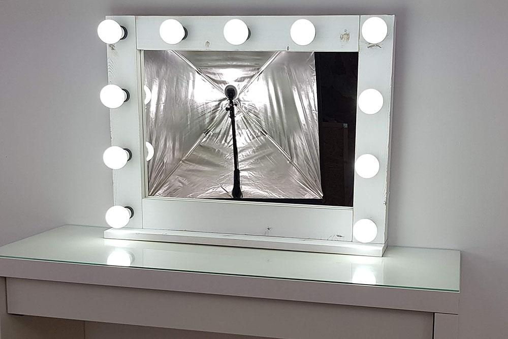 Gut gemocht Hollywood Make Up Spiegel in Shabby Chic, von - artistmirror SV14